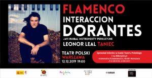 Dorantes - Leonor Leal - Javi Ruibal 12.12.2019 Teatr Polski